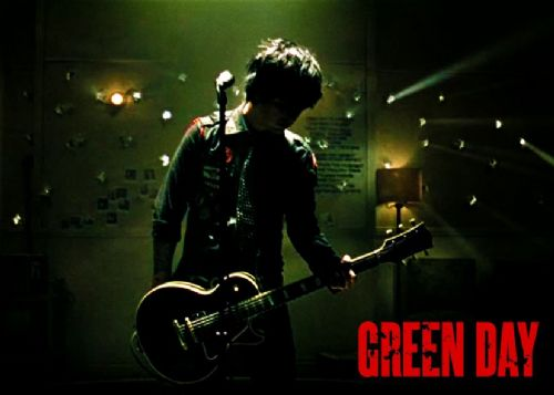 GREEN DAY - 21 GUNS RED / canvas print - self adhesive poster - photo print